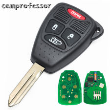 New Uncut Remote Key Fob 3B+Panic 315Mhz ID46 for Chrysler Dodge Jeep FCC M3N