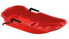 Hamax Einsitzer Schneebob Bob Rodel Sno Glider rot 90 cm 228385 NEU