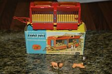 Corgi Toys, 1123 Chipperfields Circus Animal Cage with lions vn/mint boxed