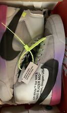 Serena Williams x OFF-WHITE x Blazer Studio Mid 'Queen' Size 8.5