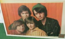 Monkees Poster New 1967 Rare Vintage Collectible Oop