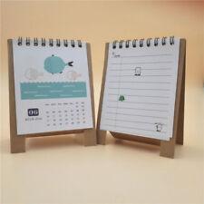 1 pc 2018 Mini Desk Calendar Table Calendar Schedule Office School Home Whales