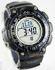 Casio Altimeter Thermometer Compass Altimeter 100M WR Watch SGW-1000-1A New