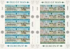 Isle of Man postfris 1987 MNH vel/sheet 335-338 - Europa / Cept (X592)