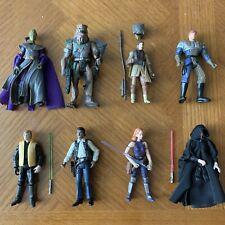 Star Wars Shadows Of The Empire Figure Lot Xizor Luke Leia Lando Mara Jade TVC