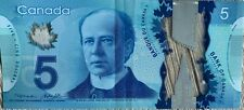 Canada 5 Dollar Note Series 2013 Circulated (Polymer) [Combine Shipping!]
