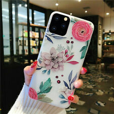 Flowers Phone Case Fr iPhone 11 Pro Max XR XS Max X 7 8 Plus Soft TPU Back Cover