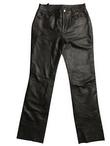 Harley-Davidson Ladies Genuine Leather Riding Pants, Size 10
