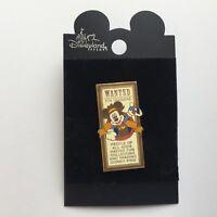 DLR - Disneyland Resort LE Pin Location - Wanted Pin Traders LE Disney Pin 42827