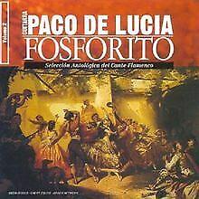 Fosforito Vol 2 von Paco De Lucia | CD | Zustand sehr gut