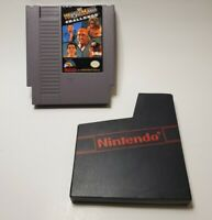 WWF WrestleMania Challenge - Nintendo NES Game, 1990 - Great Condition! W/ Case!