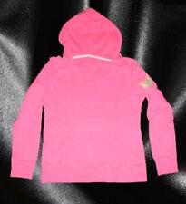 mister+ lady Pullover Kapuzenpullover Kängeruhtasche Pink Gr. L Smiley