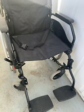 """Orthos Ultimate Healthcare 19"""" X 17"""" Self Propelled Transit Wheelchair"""