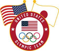 2020 Summer Olympics Tokyo Japan Team USA Flags & Olympic Rings Lapel Pin