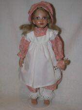 *SIGNED* Beautiful Artist Made Hand Sculpted Doll By Julie Fischer 1992-C