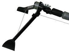 Gutter Sense Cleaning tool fits on an ordinary extension pole or standard handle