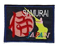 be96 Samurai Japan Abzeichen Aufnäher Applikation Bügelbild Patch 7,5 x 5,7 cm