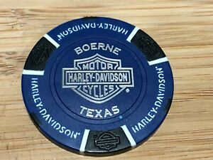 Harley Davidson Poker Chip Boerne Texas