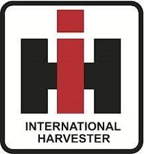 (2x) International Harvester Ih Sticker Die Cut Decal Self Adhesive Vinyl