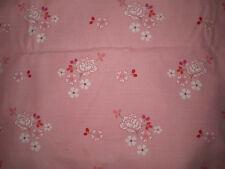 Vintage Sweet PINK FLORAL Fabric (60cm x 50cm)