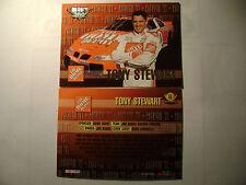 HIGH GEAR WHEELS '99 TONY STEWART/HOME DEPOT/ROOKIE YEAR   CARD #61 MINT COND.