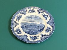 Johnson Brothers OLD BRITAIN CASTLES BLUE MADE IN ENGLAND Salad Plate Chatsworth