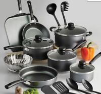 Best Nonstick Cookware Set Pots Pans Cooking Utensils Kitchen Dishwasher Starter