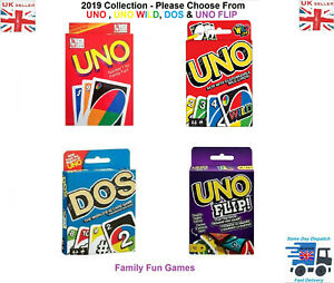 Standard UNO Card Game Family Children Friends 108 Playing Fun Cards-Normal Card
