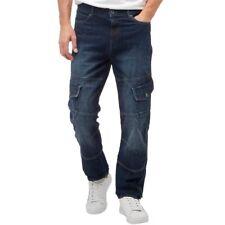 Henleys Mens Saddle Jeans Dark Wash W30 L34