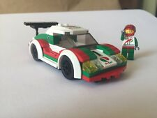 LEGO City Race / Rally Octan car (60053) 100% complete with minifig / cup