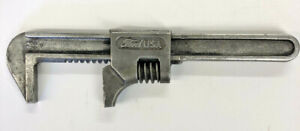 """Ford Motor Company 8"""" Auto Adjustable Monkey Wrench Ford Made In USA Man Cave"""