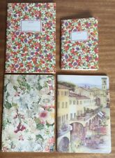 Italian Florence Artist Notebook Diary Softcover ruler A5+A6-Collection Joblot 4