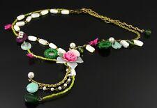 Charm Rivet Statement Pendant Necklace Collar Chain Chokers Boho Necklaces DP