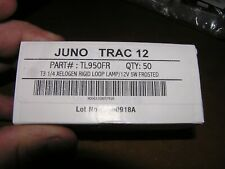 JUNO TRAC 12 TL950FR 5W 12V Frosted   (LOT of 10)