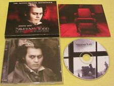 Stephen Sondheim ‎Sweeney Todd Demon Barber Of Fleet Street Soundtrack CD Album