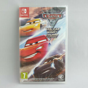 Nintendo Switch - Cars 3 Vol Gas Winst Course Victoire Driven to Win NEW SEALED