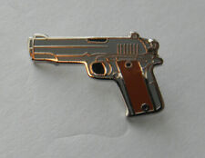 Choice Gold Silver WESTERN COLT REVOLVER 6 SHOOTER LAPEL HAT PIN Cowboy Jewelry