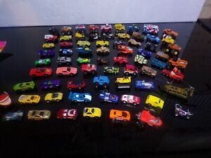 Lot of 68 Hot Wheels & Other Micro Toy Cars Trucks Machines