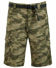 Columbia Men's Battle Ridge ll Camo-Print Cargo Shorts 38 $34.99