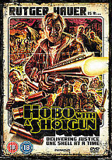 Hobo With A Shotgun (DVD, 2011) NEW SEALED Region 2 PAL