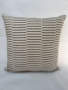 "Hotel Collection Honeycomb 18""x18"" Decorative Throw Pillow"