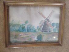 Emlichheim Hilbinks Windmühle schöne alte zeichnung um 192-30