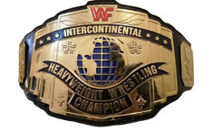 WWF Heavyweight Intercontinental Wrestling Championship Belt Adult size Replica