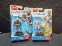 Mega Construx Halo CAPTAIN KEYES & Spartan Emile-A239 GCM25&FVK26