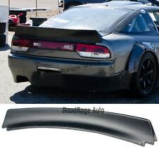 For : 89-94 240SX Hatch Drift S13 Bunny Style Rear Trunk Wing Spoiler Body Kit