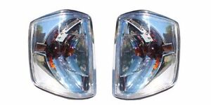 Mercedes Benz W201 190D 190E Clear Turn Signal Assembly Left and Right  84-93