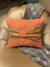 Autumn Bow Pillow