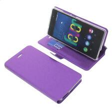 Funda para Wiko Fever 4g Book Style Funda protectora Teléfono móvil estilo libro