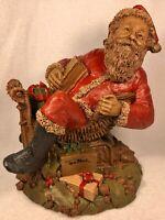 SANTA II-R 1983~Tom Clark Gnome~Cairn Studio Item #76~Ed #53~Story~Hand Signed