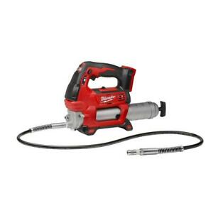 Milwaukee M18 18-Volt Lithium-Ion Cordless Grease Gun 2-Speed (Tool-Only).